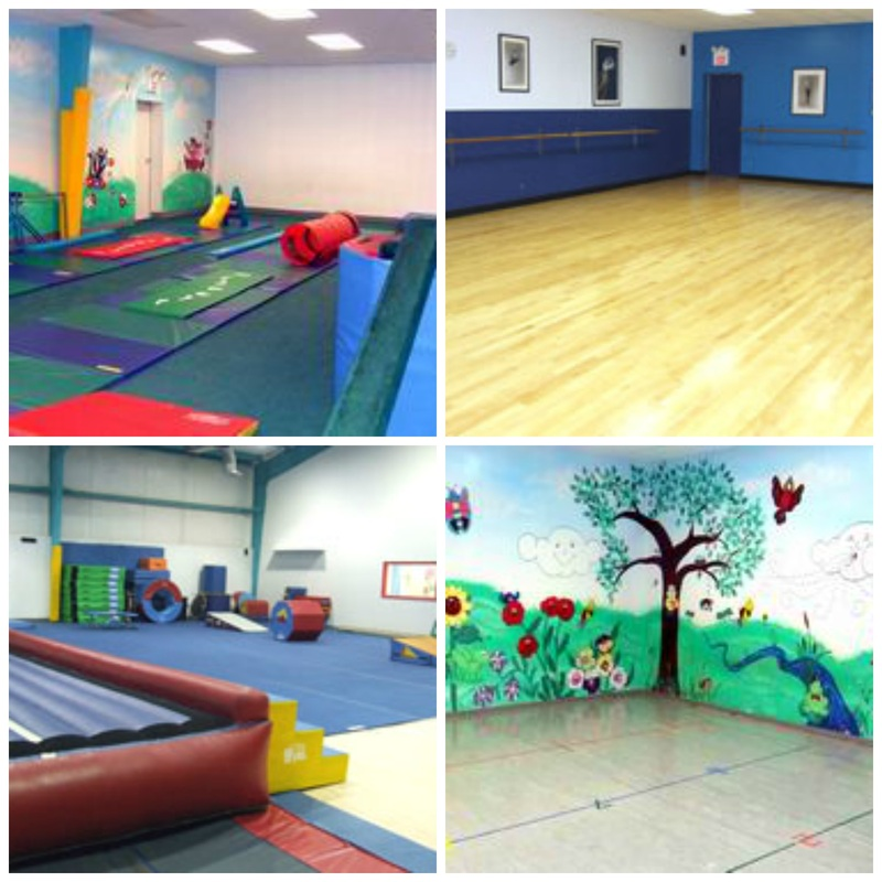 Dance classrooms gym trampoline gymnastics tumbling